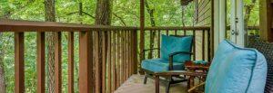 Aspen Cabin Porch