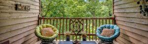 Twin Cabin porch